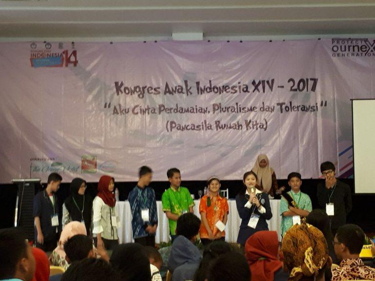 Kongres ANAK Indonesia :  KEMBALIKAN PENDIDIKAN MORAL PANCASILA KEPANGKUAN ANAK INDONESIA (Pancasila Rumah Anak Indonesia)
