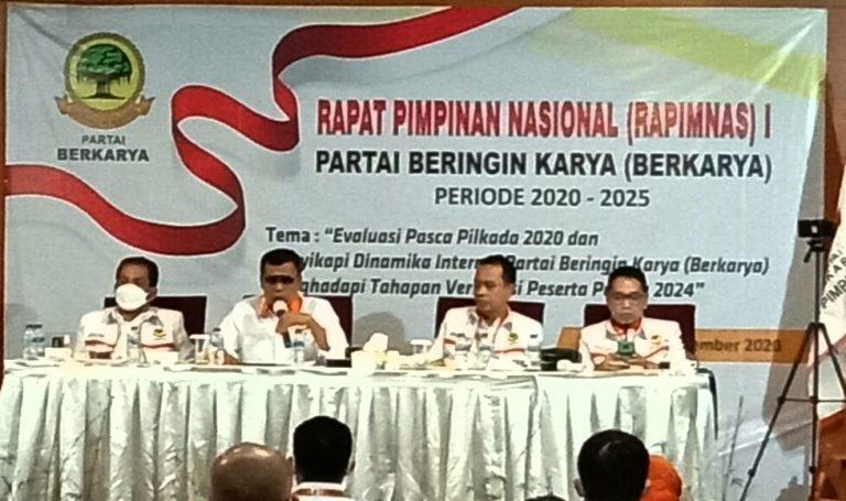 Refleksi Akhir Tahun 2020 DPP Partai Berkarya