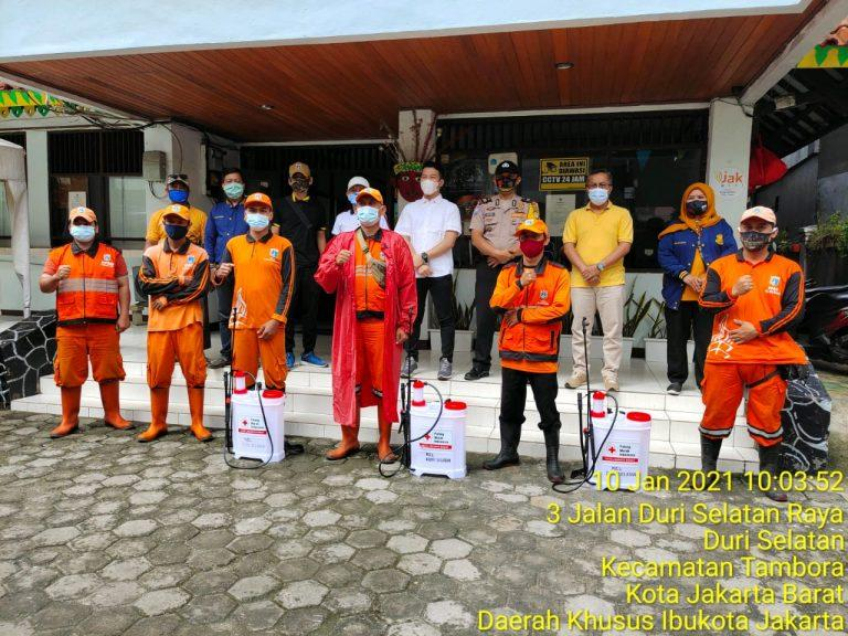 Bambang Sutarna : Penyemprotan Disinfektan Merupakan Tanggung Jawab Pemerintah Kepada Warga Untuk Mencegah Virus