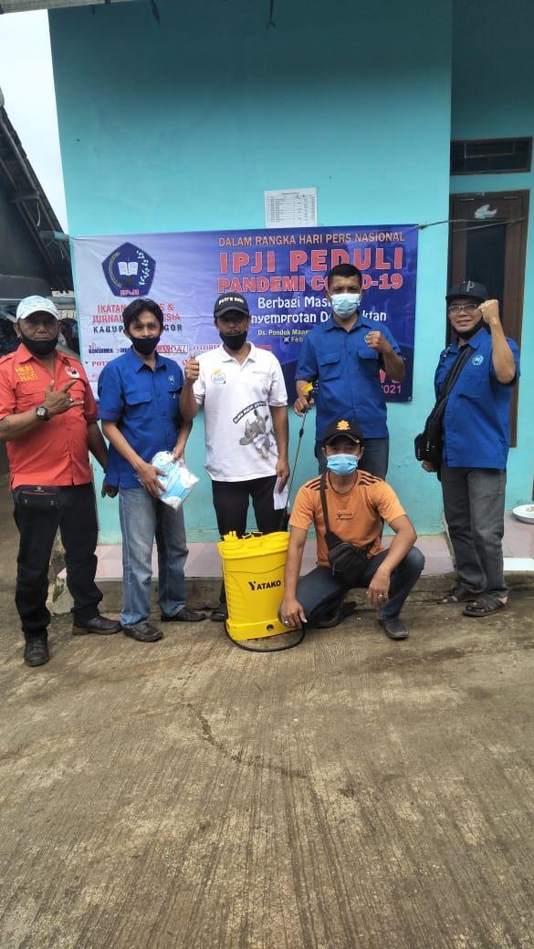 IPJI Kab Bogor Kali kedua adakan baksos di masyarakat sekitar sekretariat DPC