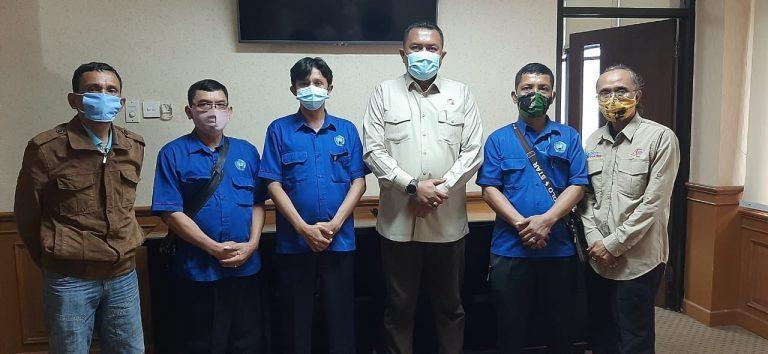 DPC IPJI Kabupaten Bogor Bincang Bincang Santai Dengan Ketua DPRD Kabupaten Bogor