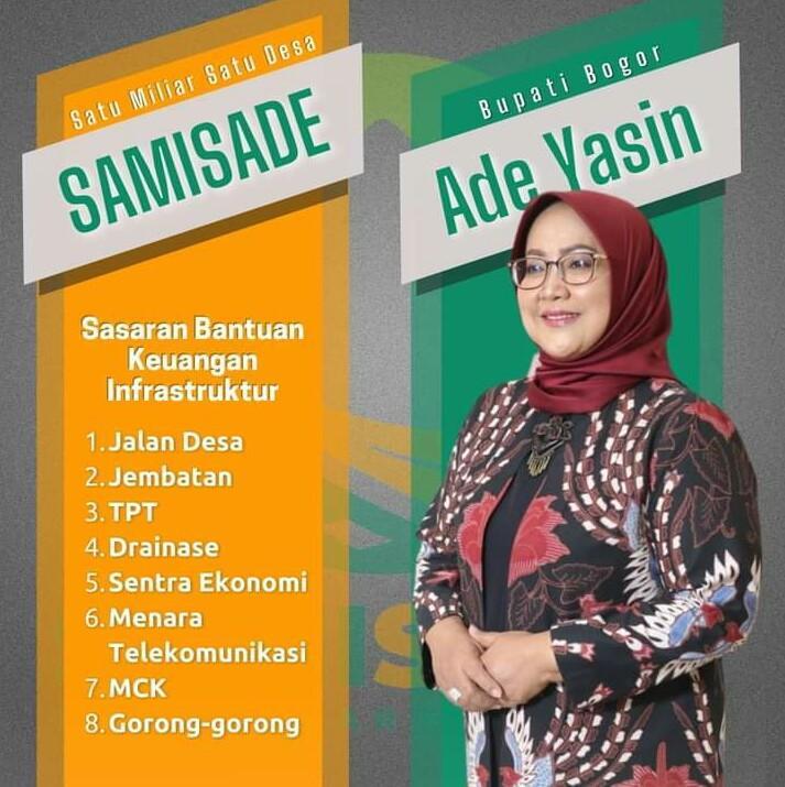 Ketua IPJI Kab Bogor Dukung Program SAMISADE